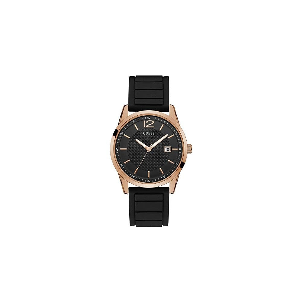 Gents Perry Black Rose Gold Watch