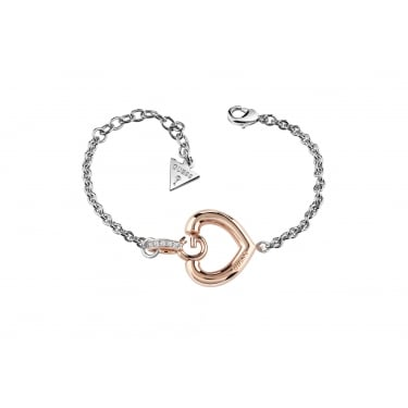 Guess Gisele Two Tone Rose Bracelet