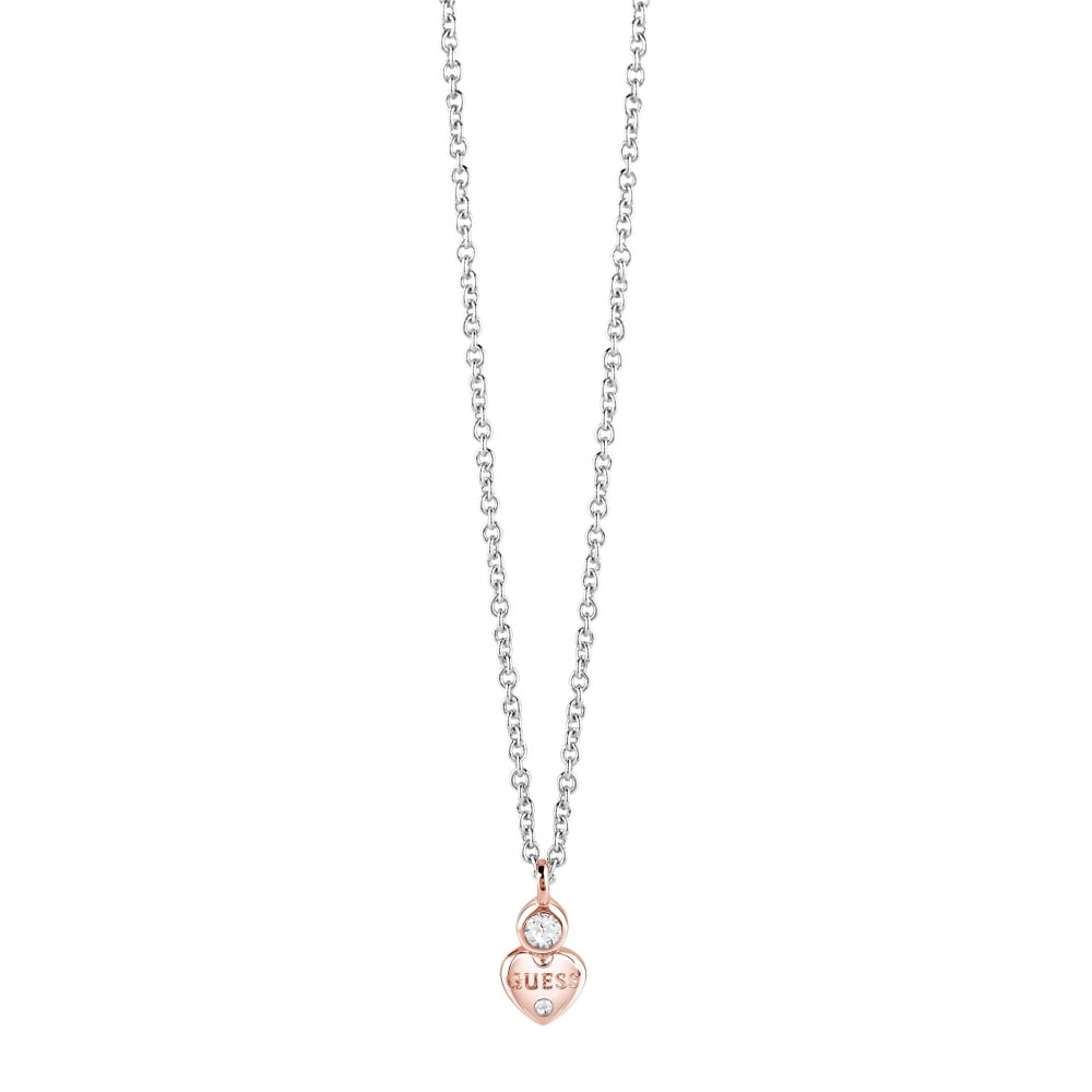 Guess Guessy Rose Gold Necklace