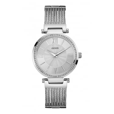 Guess Ladies Watch Silver Soho Watch