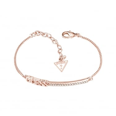 Guess Linear Rose Gold Bracelet