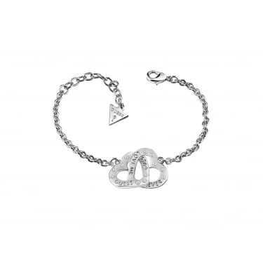 Guess Lovers Silver Bracelet