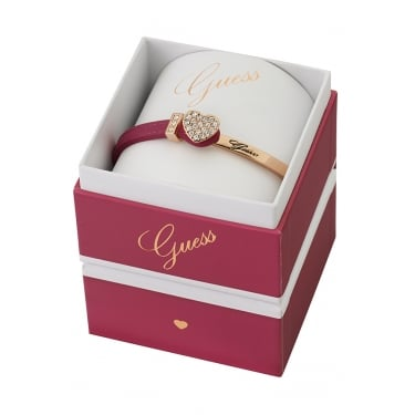Guess Rose Gold Colour Chic Bangle