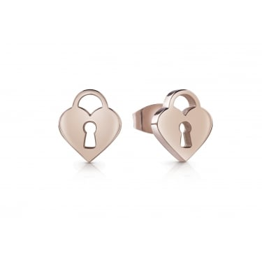 Guess Rose Gold Plated youth Tonic Earrings