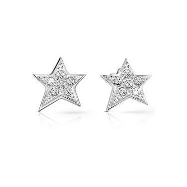Guess Silver Star Earrings