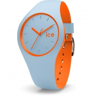 Ice Duo Orange Sage Silicone Strap Watch