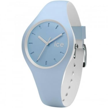 Ice Duo White Sage Silicone Strap Watch
