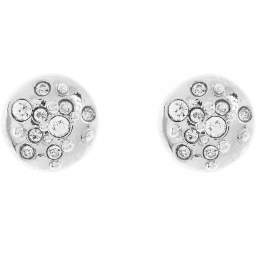 f64c64645 Karen Millen Silver Crystal Sprinkle Stud Earrings - Jewellery from ...