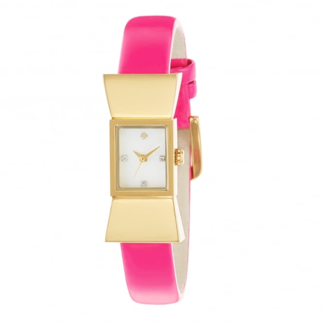 Kate Spade Carlyle Pink Strap Watch