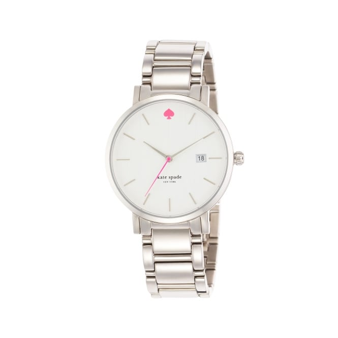 Kate Spade Classic Gramercy Grand Silver Watch