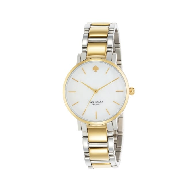 Kate Spade Classic Gramercy Silver and Yellow Gold watch