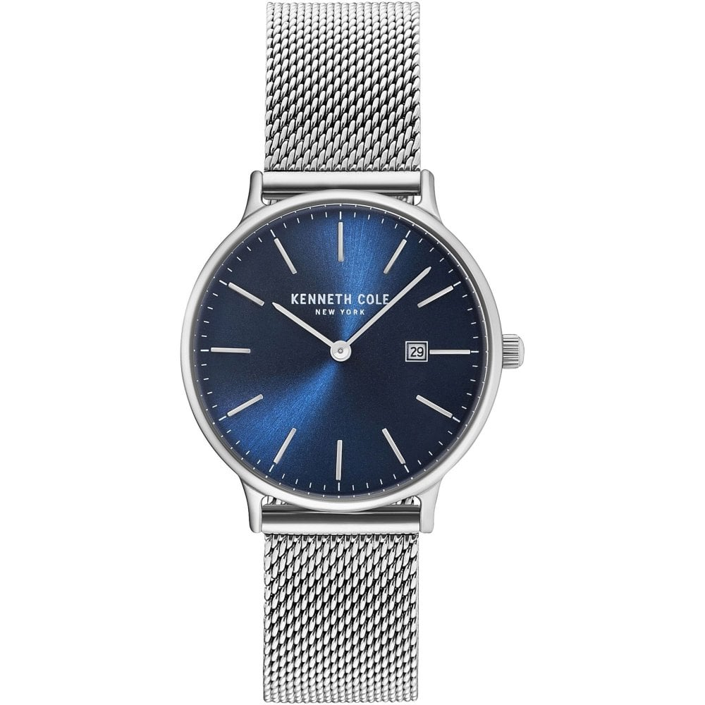 53b2af581 Kenneth Cole Gents Silver Oxford Mini Watch - Watches from Faith ...