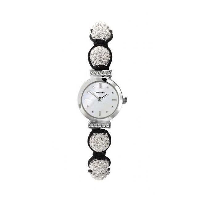 Sekonda Ladies Crystalla Candy Bling Watch White
