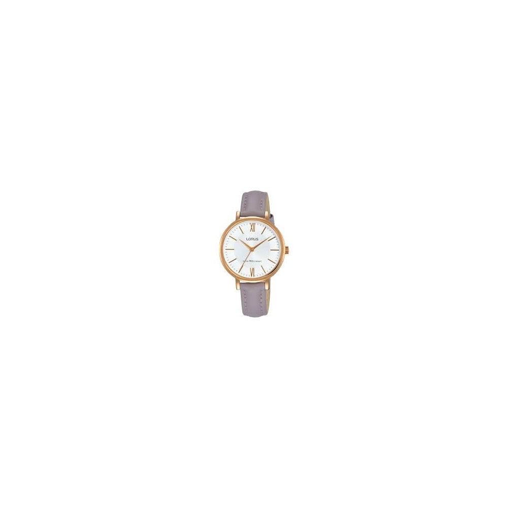 8effd3876 Lorus Ladies Purple Leather Watch - Women's Watches from Faith ...