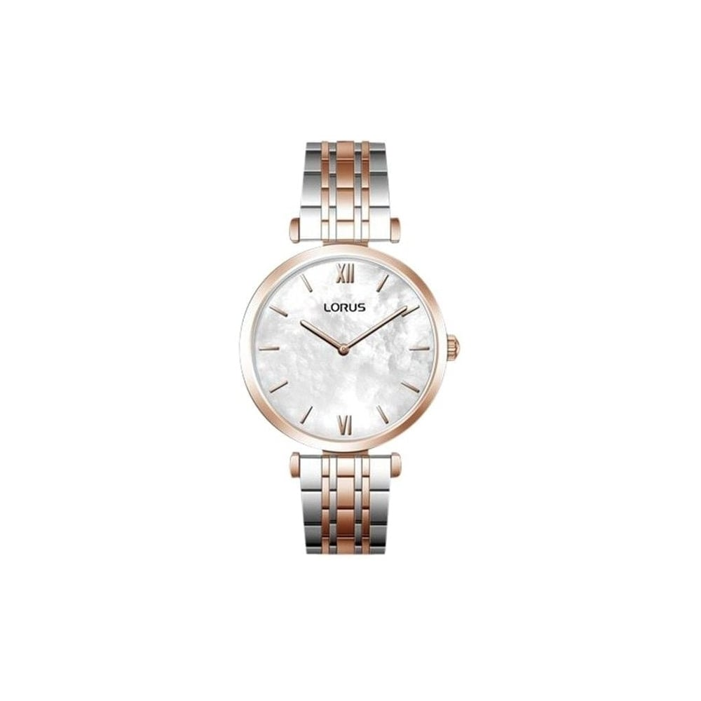 ddd78233267f3 Lorus Ladies Silver Rose Gold Watch - Women s Watches from Faith ...