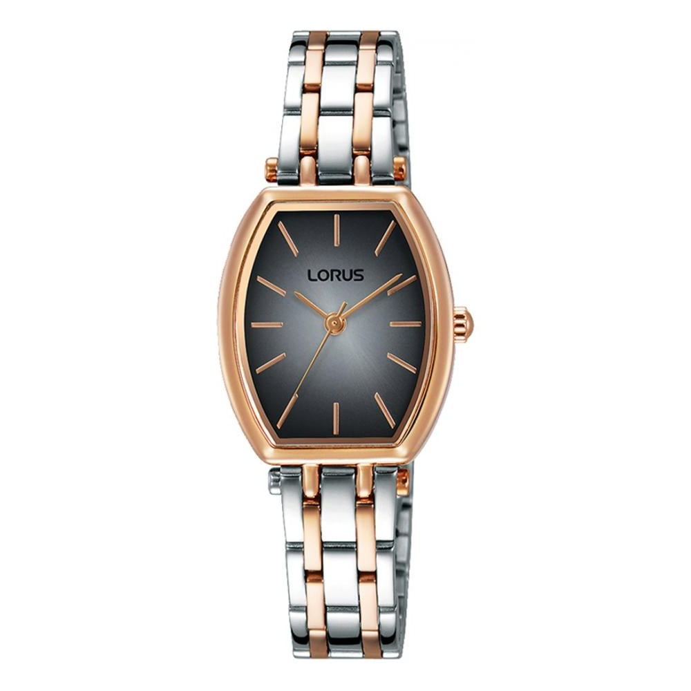 303a534fba257 Lorus Ladies Silver Rsoe Gold Navy Face Watch - Watches from Faith ...