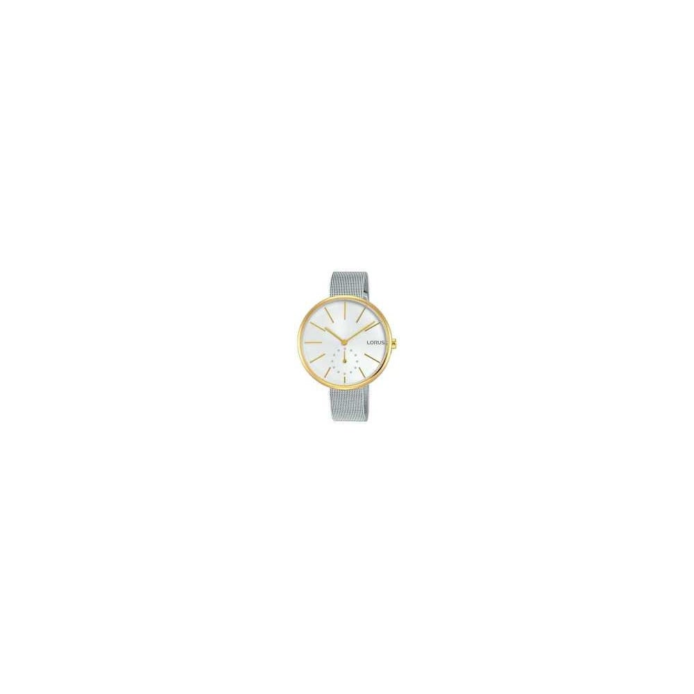 5cc928aae66f0 Lorus Ladies Silver Yellow Gold Watch - Women s Watches from Faith ...