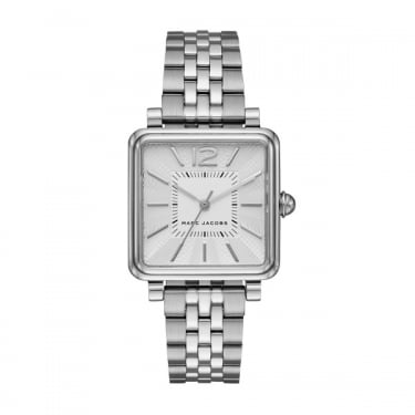 Marc by Marc Jacobs Classic Vic Silver Watch