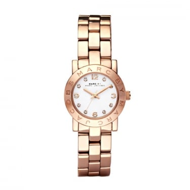 Marc by Marc Jacobs Ladies Amy Rose Gold Watch