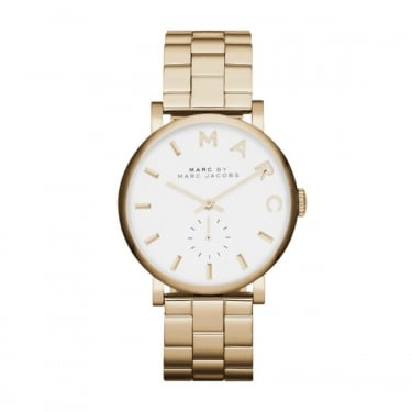 Marc by Marc Jacobs Ladies Baker Gold Tone Watch