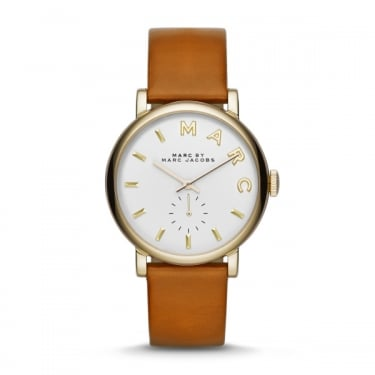 Marc by Marc Jacobs Ladies Baker Tan Leather Watch