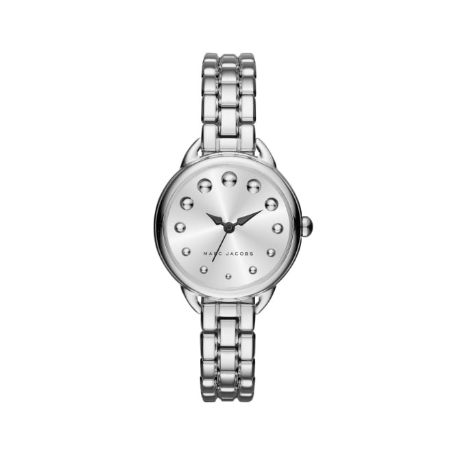Marc Jacobs Marc by Ladies Betty Silver Watch