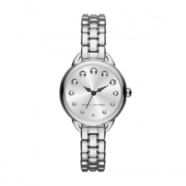Marc by Marc Jacobs Ladies Betty Silver Watch