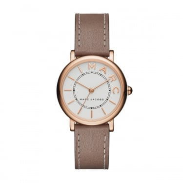 Marc by Marc Jacobs Ladies Brown Leather Watch