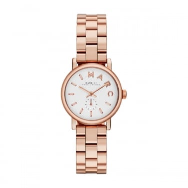 Marc by Marc Jacobs Ladies Mini Baker Rose Gold Watch