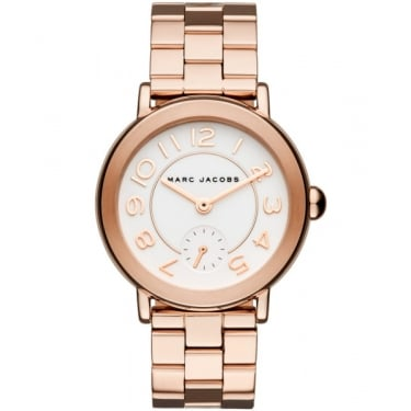 Marc by Marc Jacobs Ladies Riley Rose Gold Watch