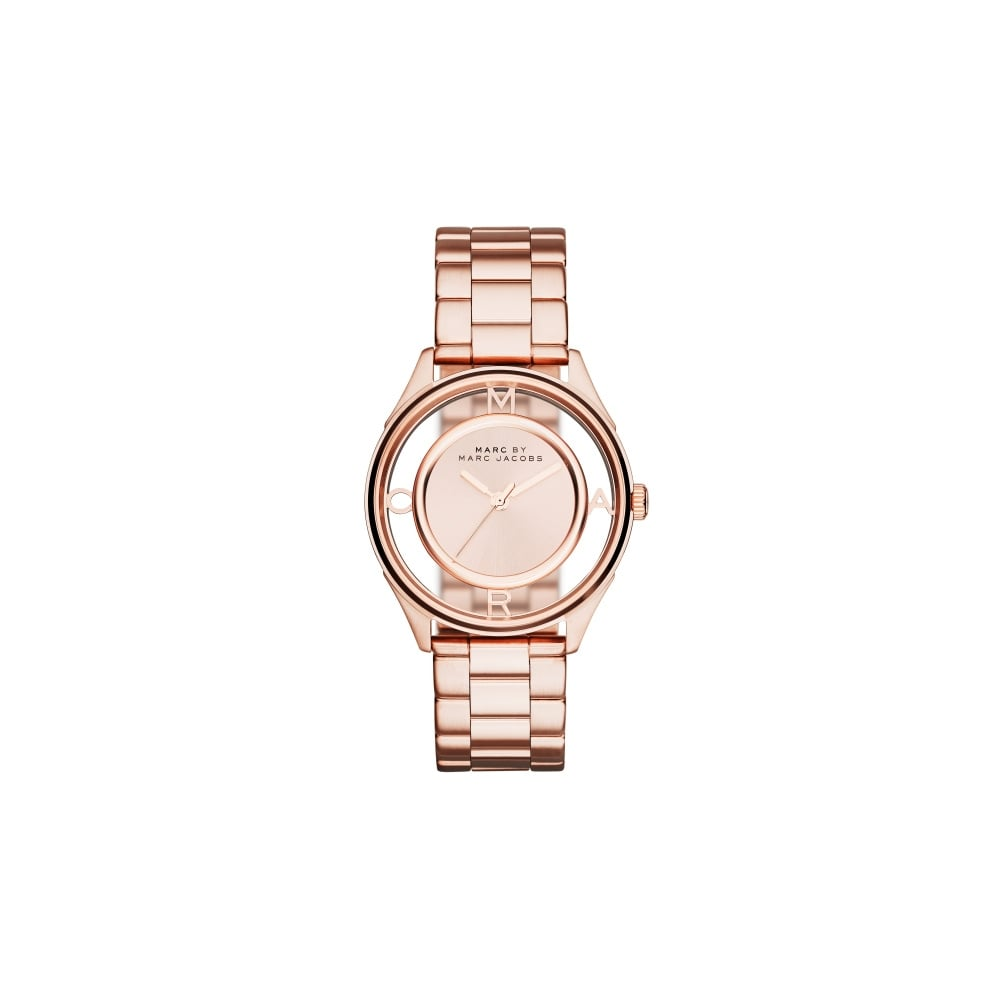 marc jacobs marc by marc jacobs ladies tether rose gold