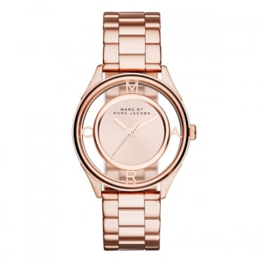 Marc by Marc Jacobs Ladies Tether Rose Gold Watch
