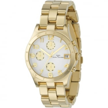 Marc Jacobs Ladies Yellow Gold Watch