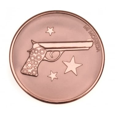 Mi Moneda Aim High - Pistol Rose Gold Small