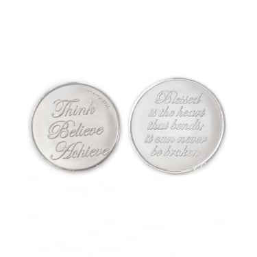 Mi Moneda Blessed-Believe Silver Medium