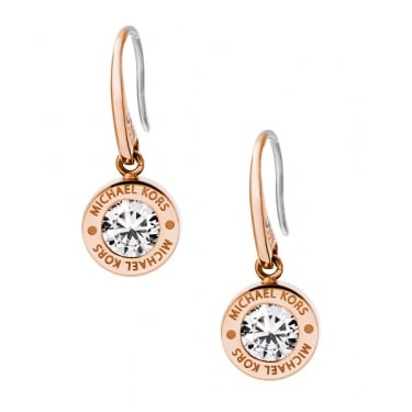Michael Kors Brilliance Rose Gold Earrings
