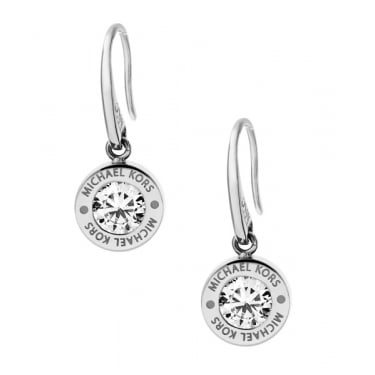 Michael Kors Brilliance Silver Earrings