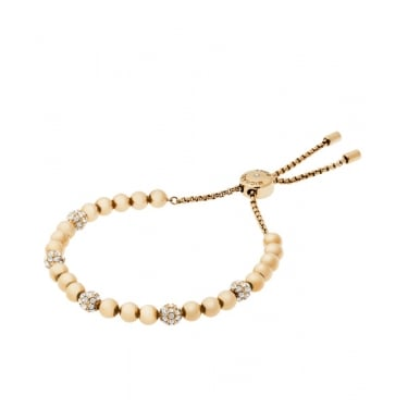 Michael Kors Brilliance Yellow Gold CZ bracelet