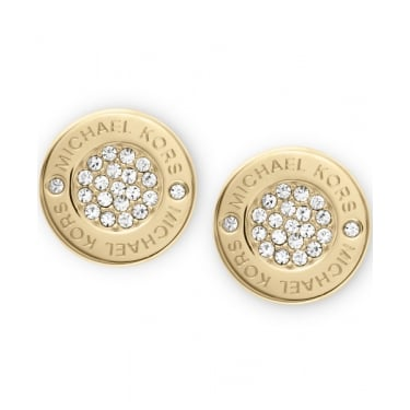 Michael Kors Heritage Yellow Gold Earrings