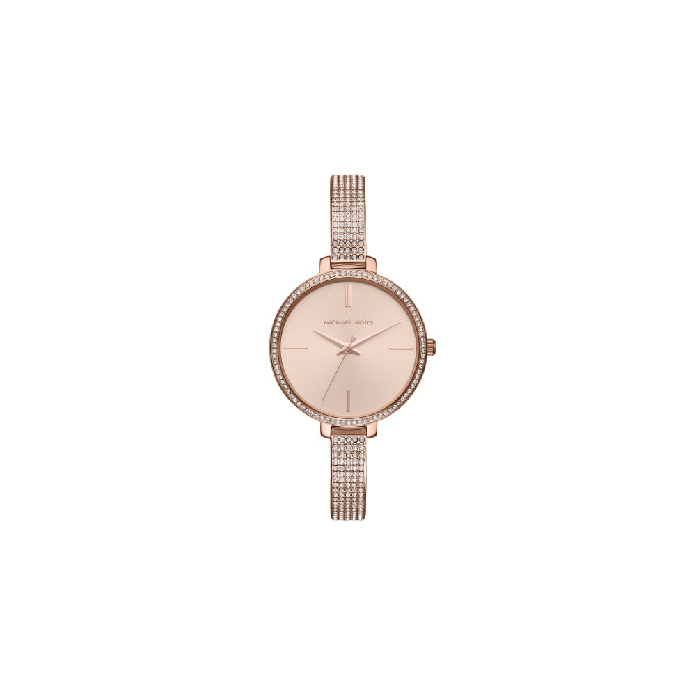 Michael Kors Ladies Rose Gold Jaryn Watch - Watches from Faith ... a9a85372a