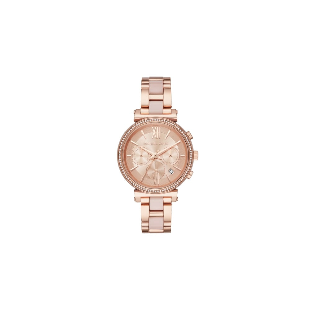 59162442bf Michael Kors Ladies Sofie Rose Gold Watch - Watches from Faith ...