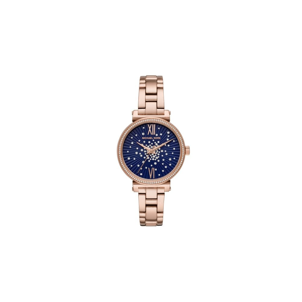 e38e19a679 Michael Kors Ladies Sofie Rose Gold Watch - Watches from Faith ...