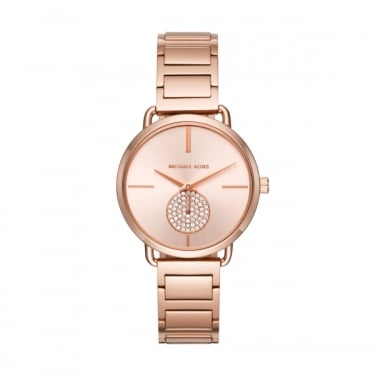 Michael Kors Portia Pink Ladies Watch