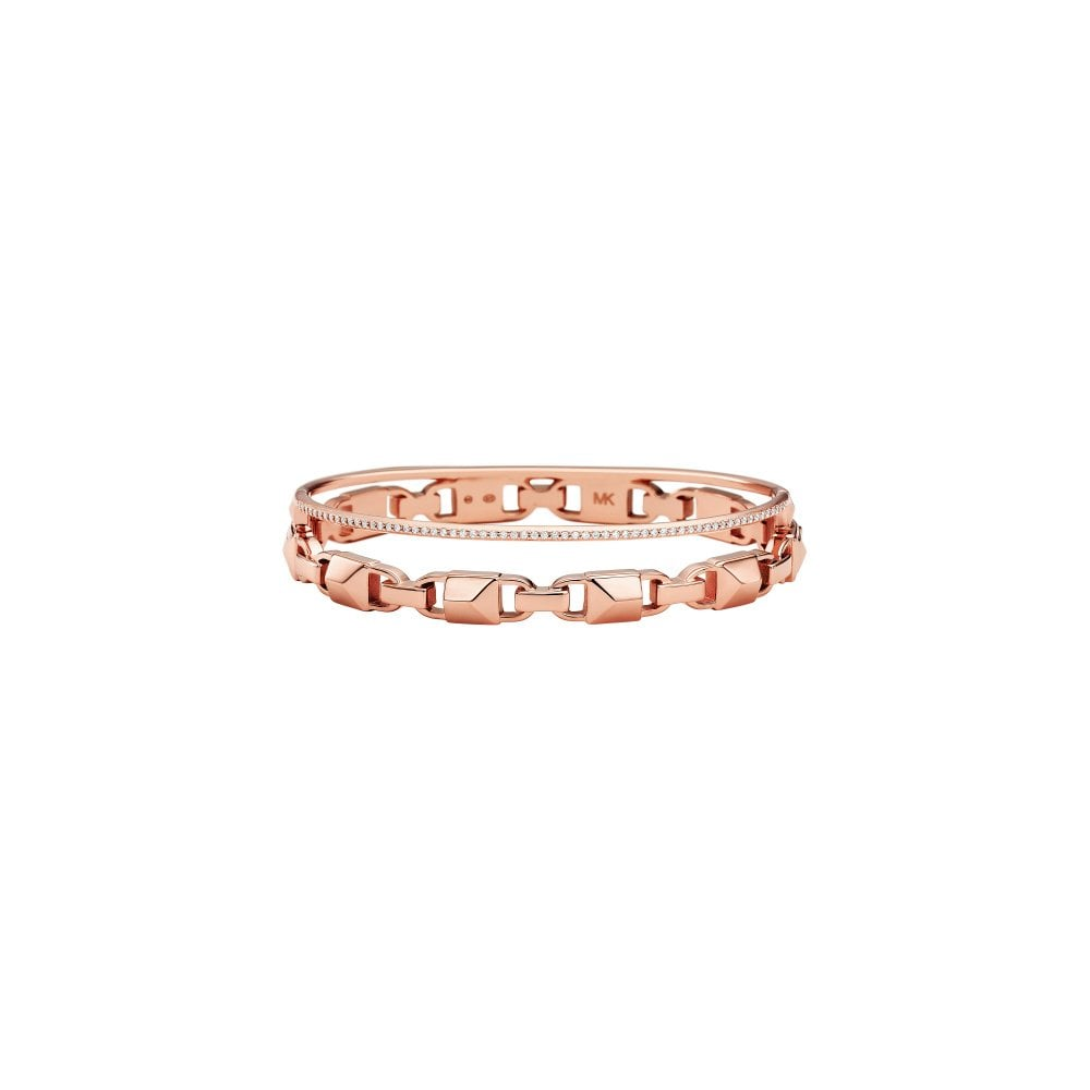 505d517194e4 Michael Kors Premium Rose Gold Bangle - Bracelets from Faith ...
