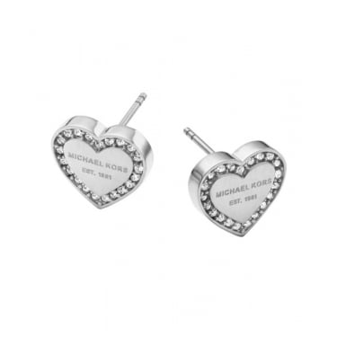 Michael Kors Silver Heritage Earrings