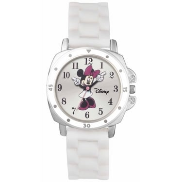 Minnie Mouse White Watch