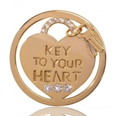 Nikki Lissoni Coin Key to Your Heart