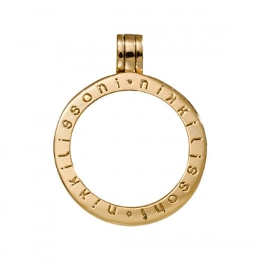 Nikki Lissoni Pendant Gold Plated 25mm