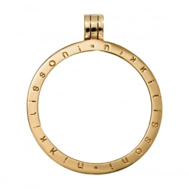 Nikki Lissoni Pendant Gold Plated 35mm