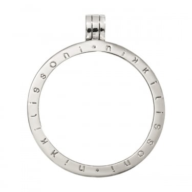 Nikki Lissoni Pendant Silver Plated 35mm